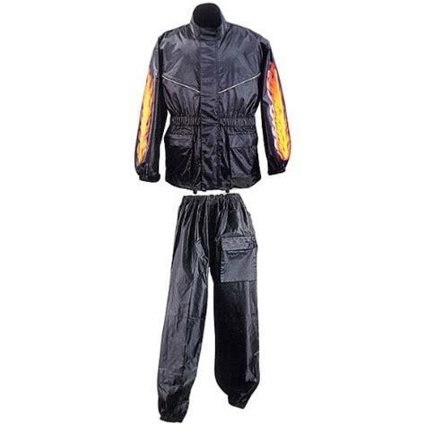 motorcycle rain suit motorcycle rain gear rain suit with flames rs5003 2xl