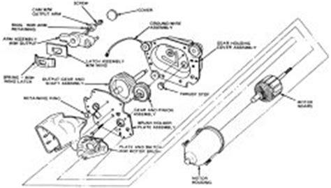 manual repair free 1983 ford thunderbird windshield wipe control 1990 mazda miata 1 6l mfi dohc 4cyl repair guides windshield wipers windshield wiper motor