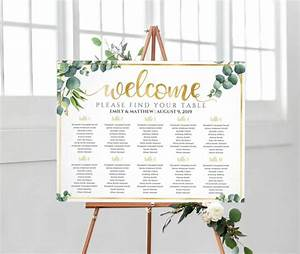 Wedding Seating Chart Wedding Table Plan Seating Chart