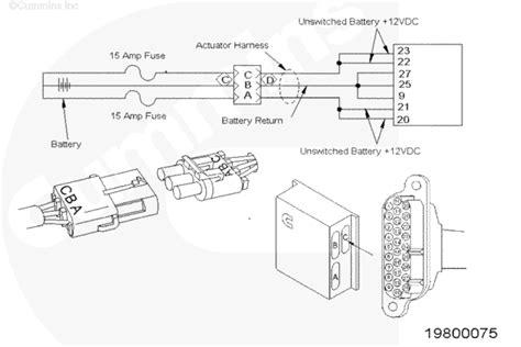 N14 Cummin Engine Diagram by Cummins N14 Ecm Wiring Diagram