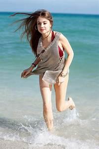 Xenia Tchoumitcheva in Swimsuit on Miami Beach 12/08/2017