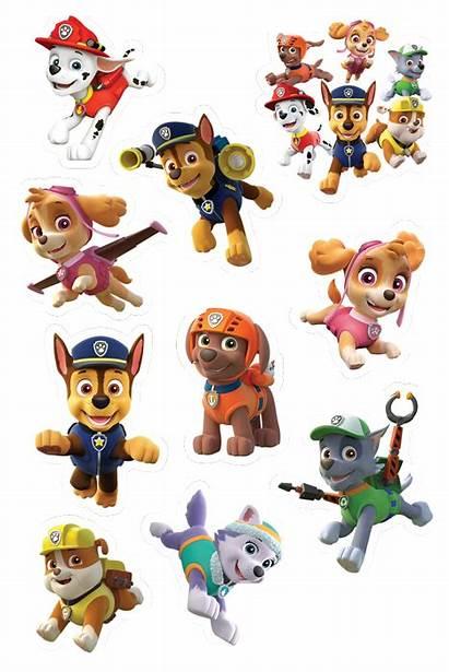 Paw Patrol Stickers Pawpatrol Sheet2 Eat