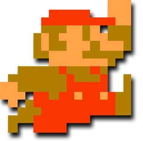 Mario Sticker 8 Bit Chiliprint