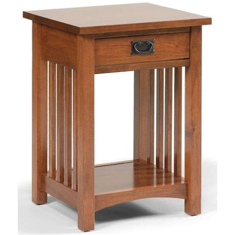 mission style bedside table google search craftsman