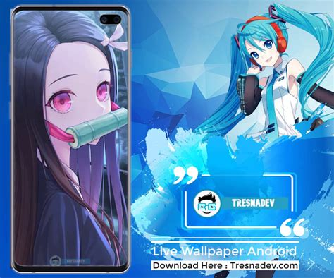 kimetsu  yaiba nezuko android  wallpaper tresnadev
