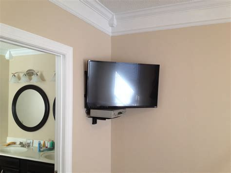 Tv Regal Wand by 15 Photo Of Corner Shelf For Dvd Player On Wall