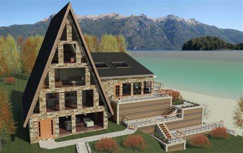 A Frame Home Plan Ideas Photo Gallery by Revitcity Image Gallery A Frame House