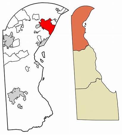 Delaware Wilmington County Castle Svg Townsend Newark