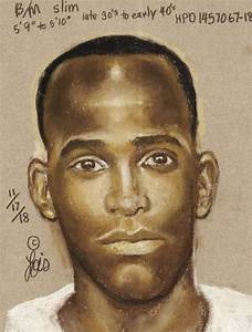 Houston police release sketch of man suspected in bus stop ...
