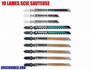 Lame De Scie Sauteuse : lames de scie sauteuse parkside lidl pstz 10 accessoires ~ Dailycaller-alerts.com Idées de Décoration
