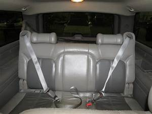 2001 Gmc Yukon Denali Xl 1500 Rear Seat Belt  U0026 Retractor Only 3rd Row Right Gray   212 Gm9j01