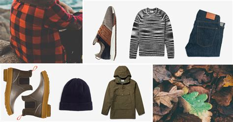 Sweater Weather Men Fall Style Essentials