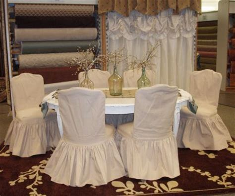 shabby chic dining chair slipcovers 1000 images about dinning chair slipcovers on