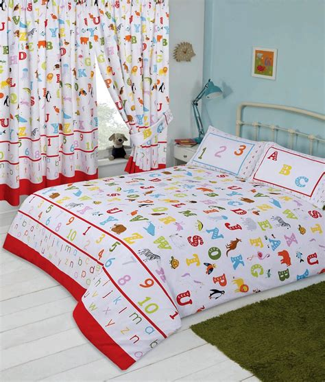 kids childrens bedroom alphabet abc letters numbers