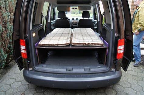 Selbstbau Bett Für Vw Caddy  Verdultde  Vw Caddy Camper