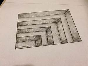 Drawing Pencil 3D Easy - Drawing Of Sketch