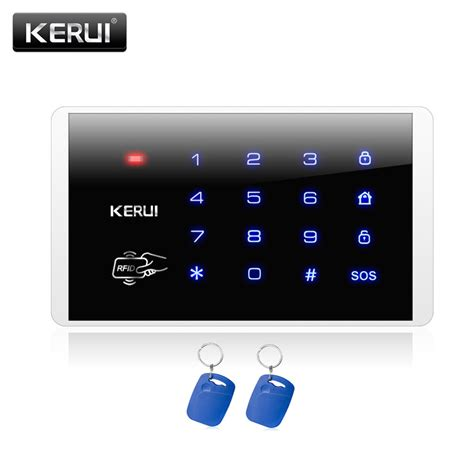 kerui   rfid touch keypad  wireless pstn gsm