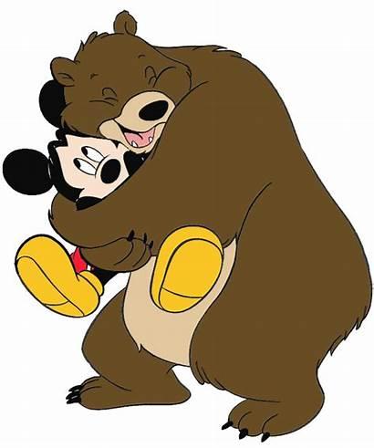 Hug Hugs Clip Clipart Bear Cartoon Mouse