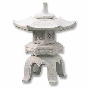 lanterne japonaise en granit rokakuyukimi h056 vente With deco pour jardin exterieur 5 lanterne de jardin photo 1820 une lanterne pour