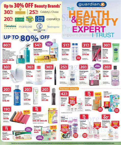 Up To 30 Percent Off Selected Beauty Brands, Up To 80