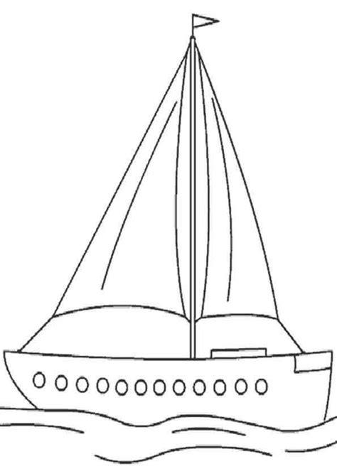 Velas De Barcos Para Colorear by Dibujos De Barcos Para Pintar