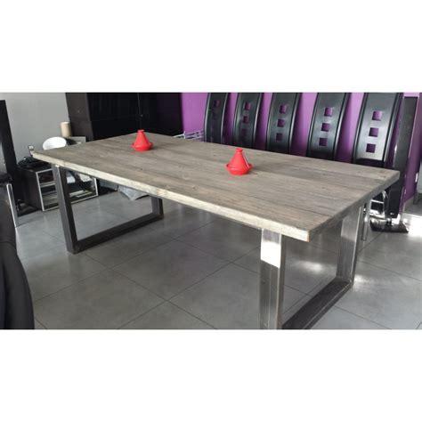 meuble cuisine acier meuble de cuisine style industriel 11 table de salle