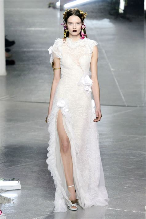 wedding dress inspiration   york fashion week fall