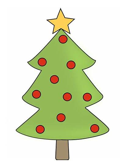 Tree Christmas Clip Clipart Ornament Gold Star