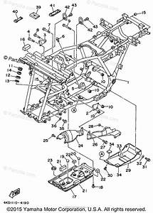 Yamaha Atv 1994 Oem Parts Diagram For Frame