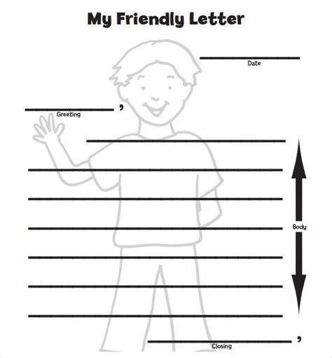letter format  kids samples examples format