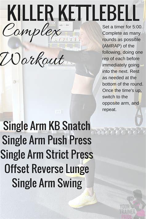 complex kettlebell workout killer moves
