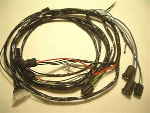 1961 Impala Belair Biscayne Forward Front Light Wiring