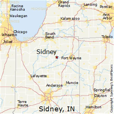 places    sidney indiana