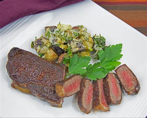 Salt dry aged beef sirloin steak. Foodista   Recipes, Cooking Tips, and Food News   Home ...