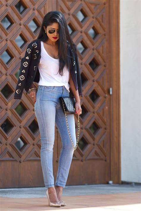 Ways to Wear High Waisted Jeans u2013 Glam Radar