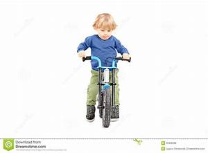 Cute Male Kid Riding His Bicycle Stock Photo - Image: 35336998