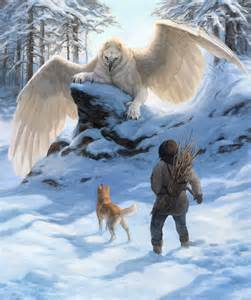 Snow Mythical Griffin