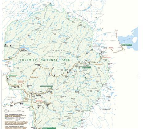 map yosemite deboomfotografie