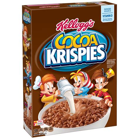 Cereal Choco rice krispies cereal 12 ounce boxes pack of