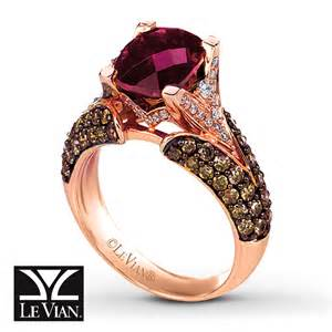 strawberry gold engagement rings jared le vian garnet ring 1 1 6 ct tw diamonds 14k strawberry gold