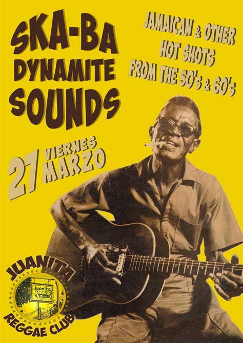 ska ba dynamite sounds vintage  posters