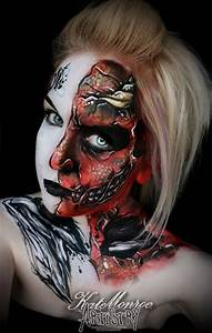 Angels and demons / heaven and hell - face paint body art ...