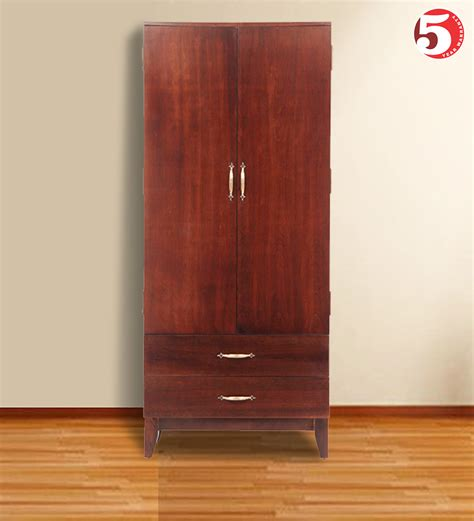 Single Wardrobe With Drawers by Single Wardrobe With Drawers Wooden Furniture Ekbote