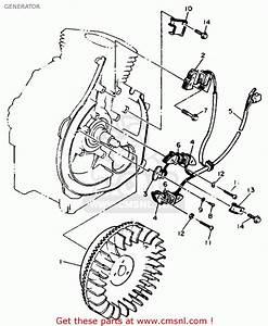 Yamaha Yt3600n 1989 Generator