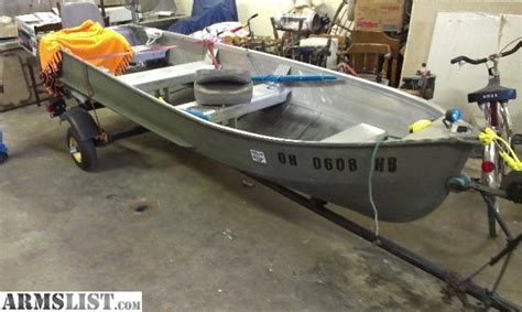 14 Ft Aluminum Fishing Boat Trolling Motor by Armslist For Sale Trade 14ft Aluminum V Hull Fishing