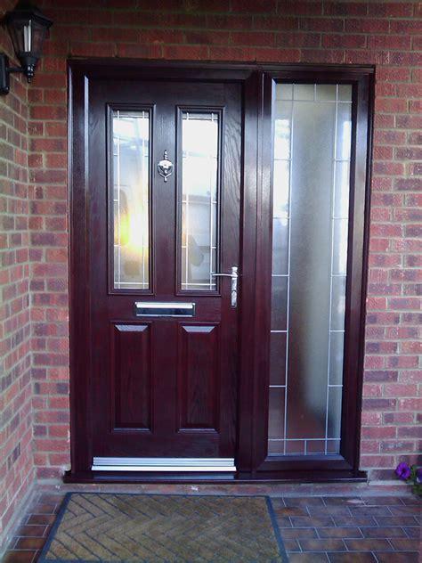 Rosewood Doors & Flint 1 Composite Door In Rosewood With
