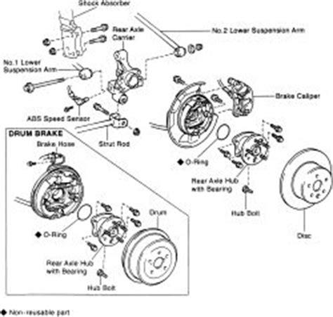 repair guides rear axle stub axle bearing