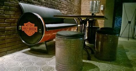 galeri umah tong inspirasi model drum bekas