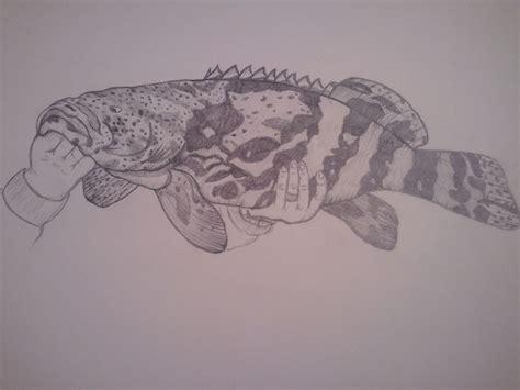 grouper goliath moose skull tattoos birthday smitty sketches artwork
