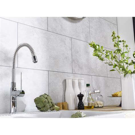 dalle pvc pour cuisine dalle murale pvc blanc dumaplast dumawall l 65 x l 37 5 cm